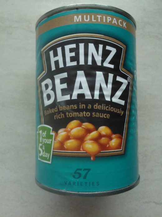Beans - other brands are available