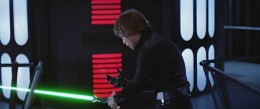 Luke realizing he would become just like Vader and be a slave to the Emperor