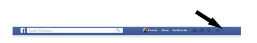 Screenshot of Facebook, created for educational purposes only.