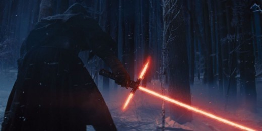 Kylo Ren's lightsaber from The Force Awakens