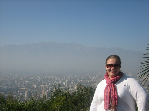 A View of the Entire City of Santiago