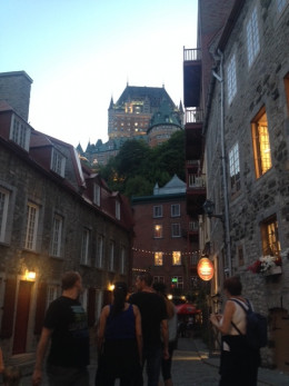 Old Quebec City street