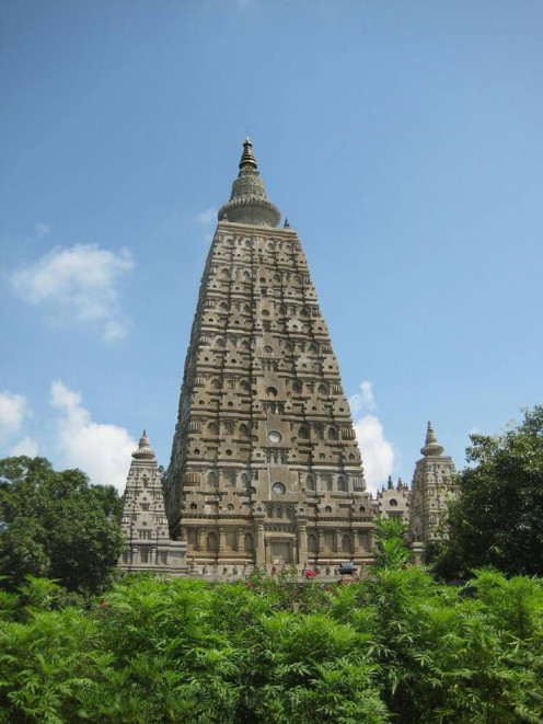 Mahabodhi temple at Bodh Gaya