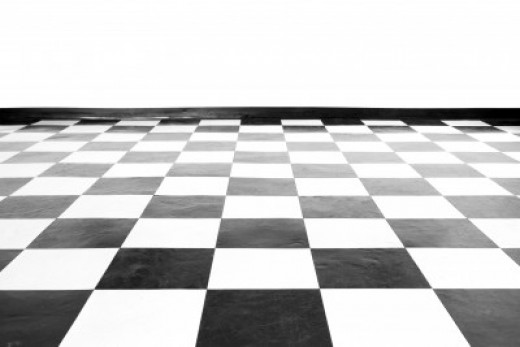 The checkerboard pattern is a classic!