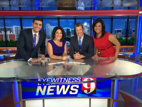 Courtesy of WFTV. Eyewitness News Daybreak Team