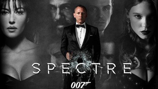 A film poster for Spectre