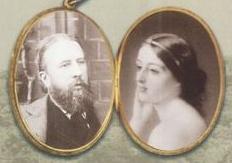 Spencer Cavendish, 8th Duke of Devonshire (1833–1908) circa 1865, and his wife Louisa Frederica Augusta von Alten, widow of the late William Drogo Montagu, 7th Duke of Manchester.