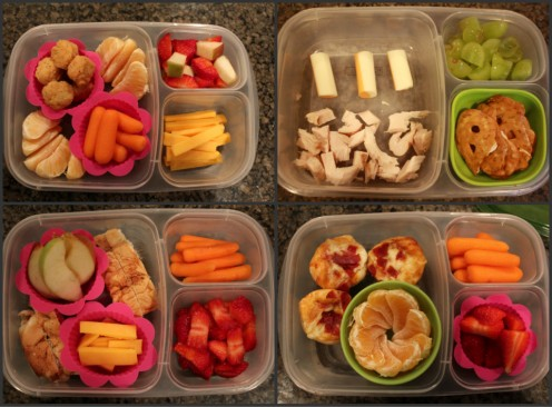 "Some healthier homemade ""Lunchable"" ideas"