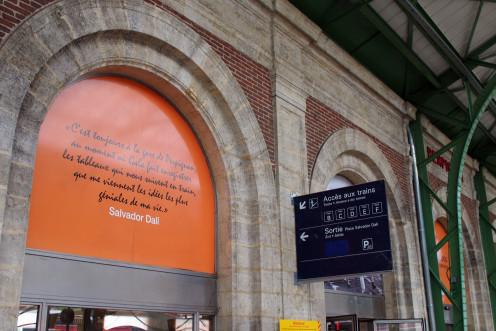Perpignan Station.