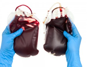 Gloves and Blood Bags made from PVC