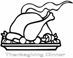 Thanksgiving Turkey Printable Coloring Pages