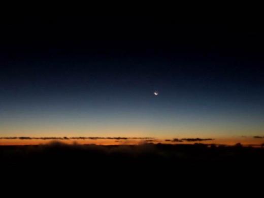 Before the sunrise breaks.