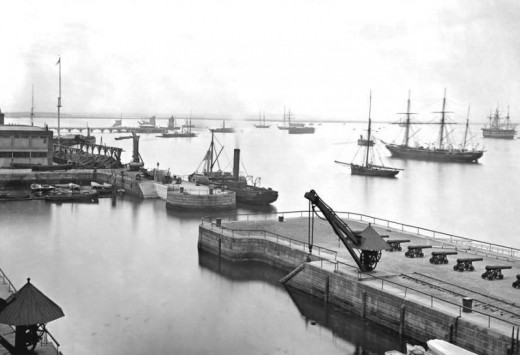 Sheerness Dockyard early C20th