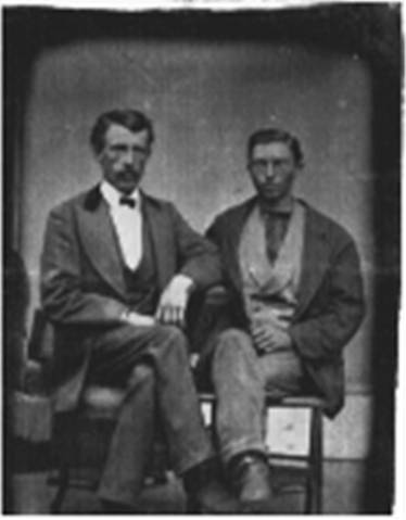 Great, great grandpa O'Dowd on the right