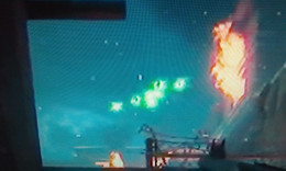 "Screenshot of ""The Fly Trap"" being activated in Black Ops Zombies ""The Giant"""