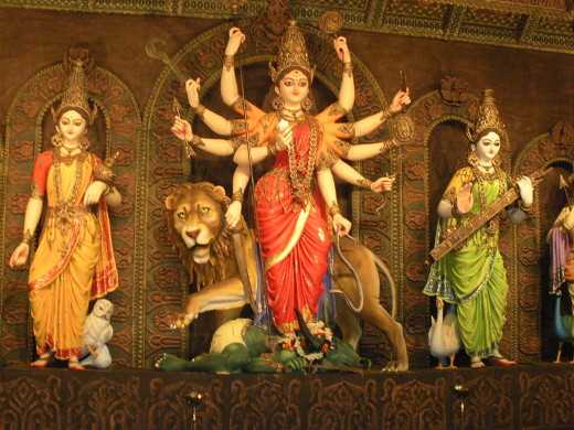 Beautiful-Goddess Durga