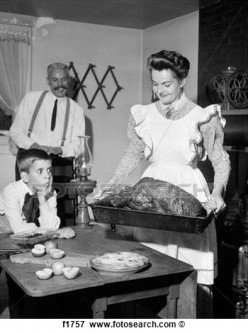 A Turn-Of-The-Century 'Dainty Thanksgiving Meal' Idea Shows Thanksgiving Meal Is Always Work