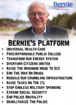 Bernie Thinks You're a Moron