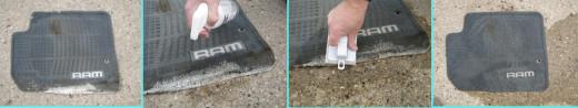 How to clean floor mats