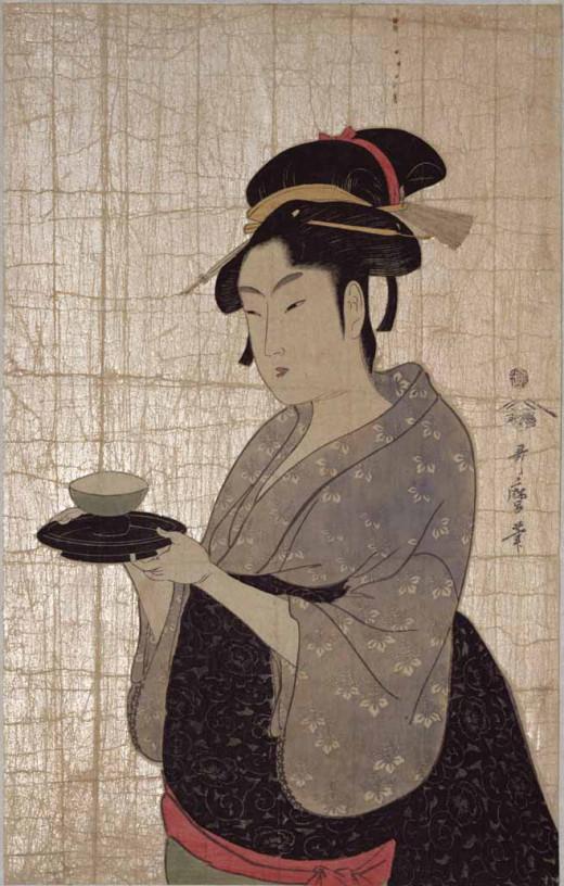 Utamaro [Public domain], via Wikimedia Commons.