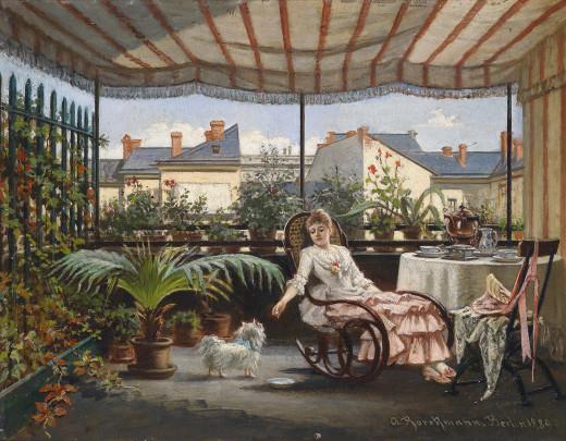 By August Borckmann (1827-1890) (http://www.dorotheum.com) [Public domain], via Wikimedia Commons.