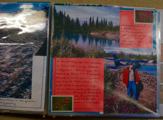 Scrapbook: A Float-plane Trip in Alaska