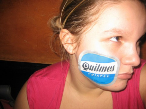 Quilmes Beer, enough will kill any virus!