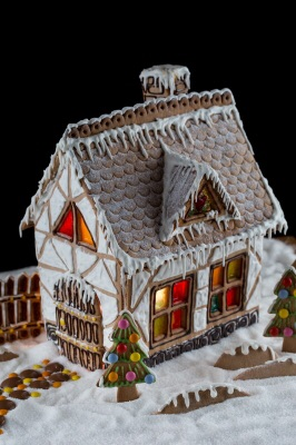 A Gingerbread House is Something that's on the top of the list over Christmas as it really stands out and looks so creative