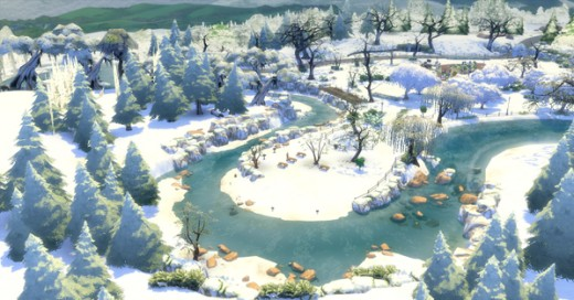 Make your town into a Winter Wonderland!