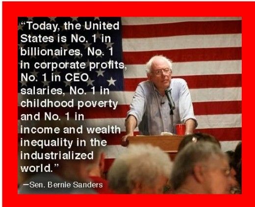 Bernie's false comparisons.