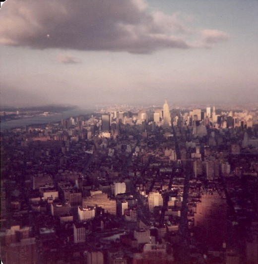 New York City, 1979, From the top of the World Trade Center.