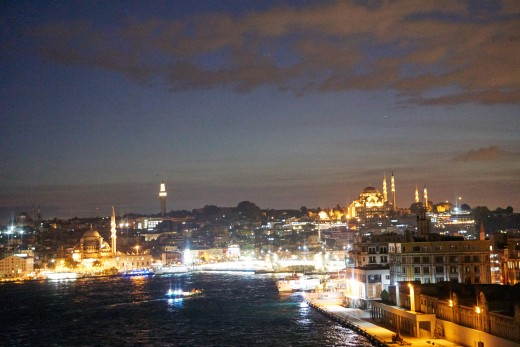 Be sure to be on deck as you sail out of Istanbul. The view is breathtaking.