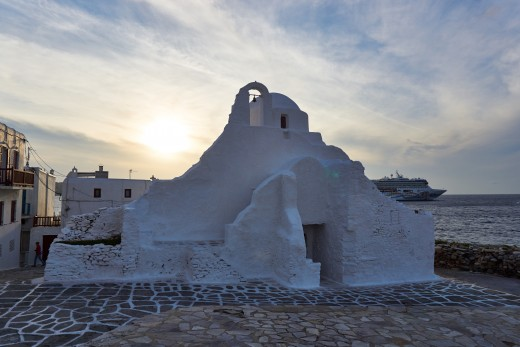 Mykonos and Norwegian Spirit