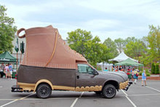 L.L. Bean Boot Car - Freeport