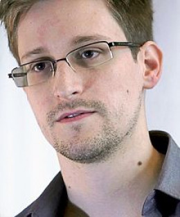 Edward Snowden - whistleblower who sacrificed his own freedom to tell the truth
