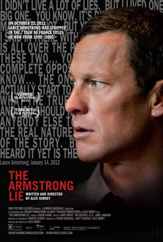 "Poster for ""The Armstrong Lie"""