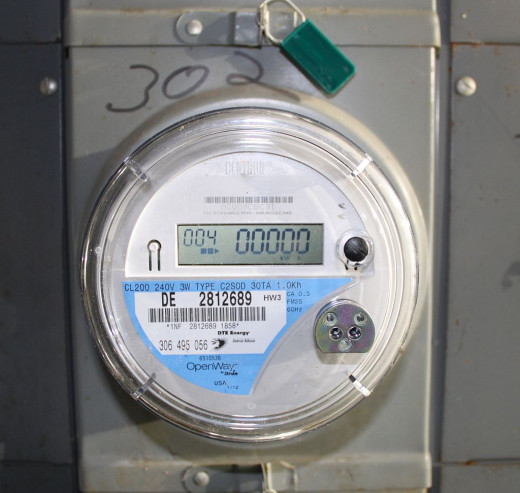 Two way communication smart meter