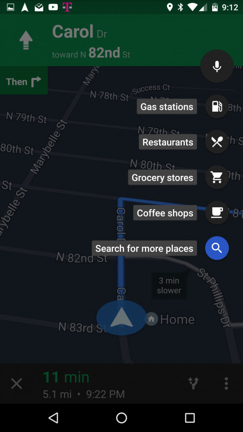 google maps and places