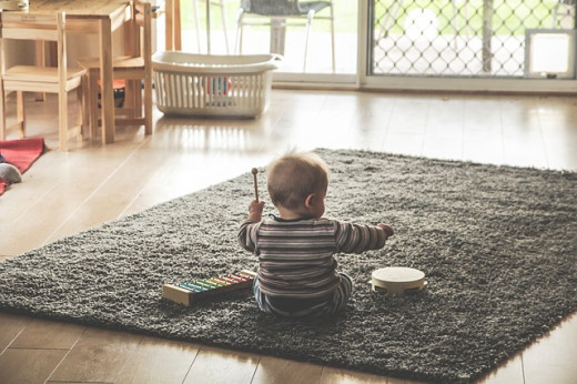 Tidy rooms when babies are young trains them to keep their room tidy. Photo Credit - https://pixabay.com