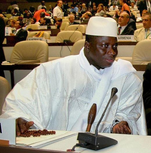 Gambia President, Yahya Jammeh