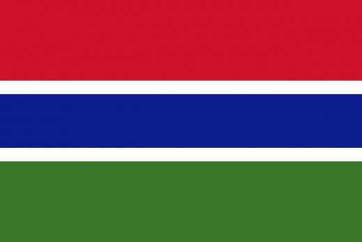 National Flag of Gambia