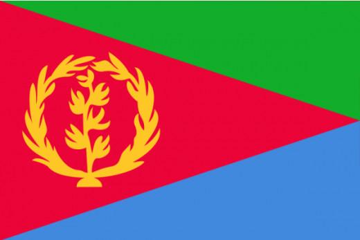 Eritrean National Flag