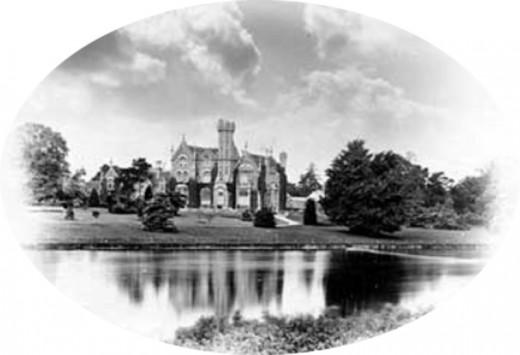 Oakley Court in 1871
