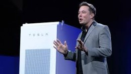 The Tesla Powerpack will provide utility-scale power storage for renewable energy storage and other backup power uses.