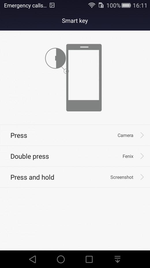 Smart Button Settings