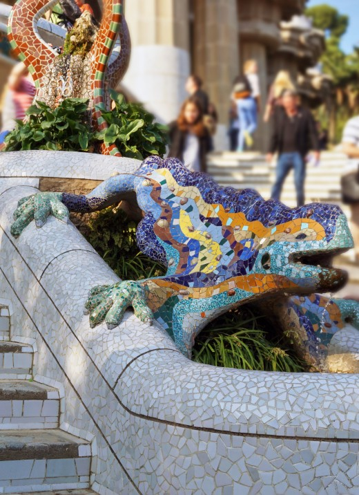 Park Güell Dragon