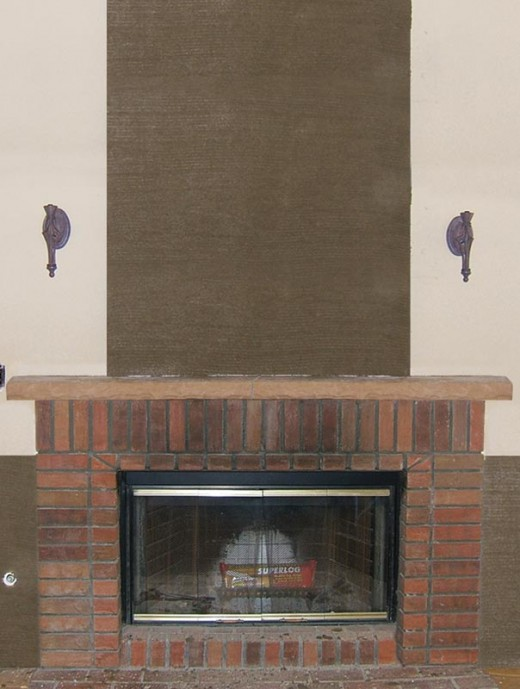 Stone Veneer Fireplace Installation Step 5 - Apply the Scratch Coat