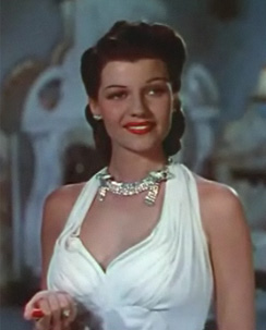 Rita Hayworth from the trailer for the film Blood and Sand, 1941