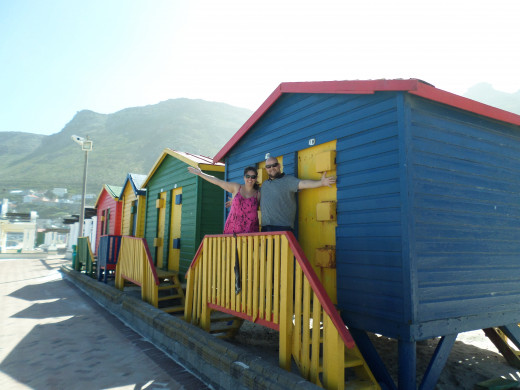 Muizenberg beach hut is a colourful and interesting item on the list.
