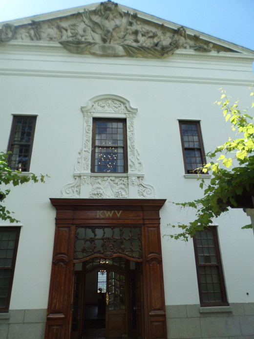 Take a visit to KWV one of the biggest known wines in the country and around the world as it is exported.